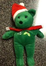 Mark McGwire #25, Christmas Bear (Bamm Beano's) in Morris, Illinois