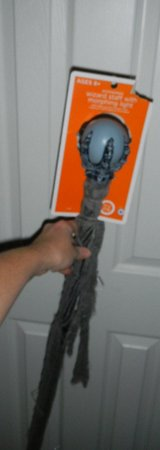 Morphing Light Ball Wizard Staff Costume Prop NEW in Kingwood, Texas