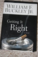 GETTING IT RIGHT by William F Buckley in Ramstein, Germany