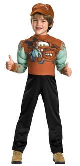 NEW Disney Cars 2 Movie Tow Mater Costume 7-8 Boys in Kingwood, Texas