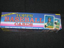 1989 Topps Baseball Card Set - Factory Sealed in Spangdahlem, Germany
