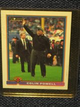 1991 Bowman General Colin Powell Card in Spangdahlem, Germany