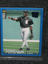 1995 Upper Deck - Collector's Choice Michael Jordan Baseball Card in Spangdahlem, Germany