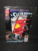 1993 Superman Comic - Death of Superman - Vol #2 in Spangdahlem, Germany