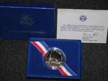 1986 S-Proof Commemorative U.S. Statue of Liberty Half-Dollar Coin in Spangdahlem, Germany