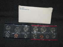 1981 Uncirculated U.S. Mint Coin Set in Spangdahlem, Germany