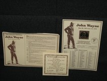 John Wayne 24kt Gold Electro-plated Commemorative Coin in Spangdahlem, Germany