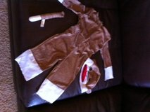 Sock Monkey Halloween costume (12-18 months) in Yucca Valley, California