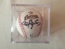 Roger Clemens autographed ball in Kingwood, Texas