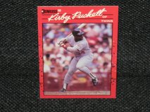 1990 Donruss Kirby Puckett Baseball Card in Spangdahlem, Germany
