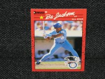 "1990 Donruss ""All-Star"" Bo Jackson Baseball Card in Spangdahlem, Germany"