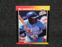 1989 Donruss Bo Jackson in Spangdahlem, Germany
