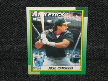 1990 Topps Jose Canseco Baseball Card in Spangdahlem, Germany