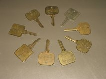Brass Hotel keys in Bolingbrook, Illinois