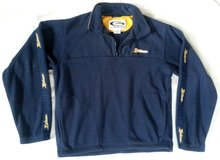 michigan blue/yellow fleece pull-over jacket size med in Manhattan, Kansas