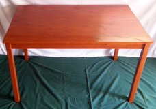 IKEA Kitchen Table - Rectangular & Solid Wood in Manhattan, Kansas