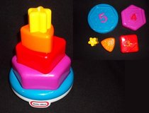 Little tikes Shape Stacker in Naperville, Illinois