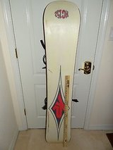 Intermediate - Advanced RIder K2 HC52 Snowboard 152 cm with medium bindings in Huntington Beach, California