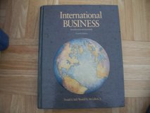 International Business textbooks in Ramstein, Germany
