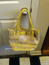 Yellow Tan Coach Purse in Fort Campbell, Kentucky